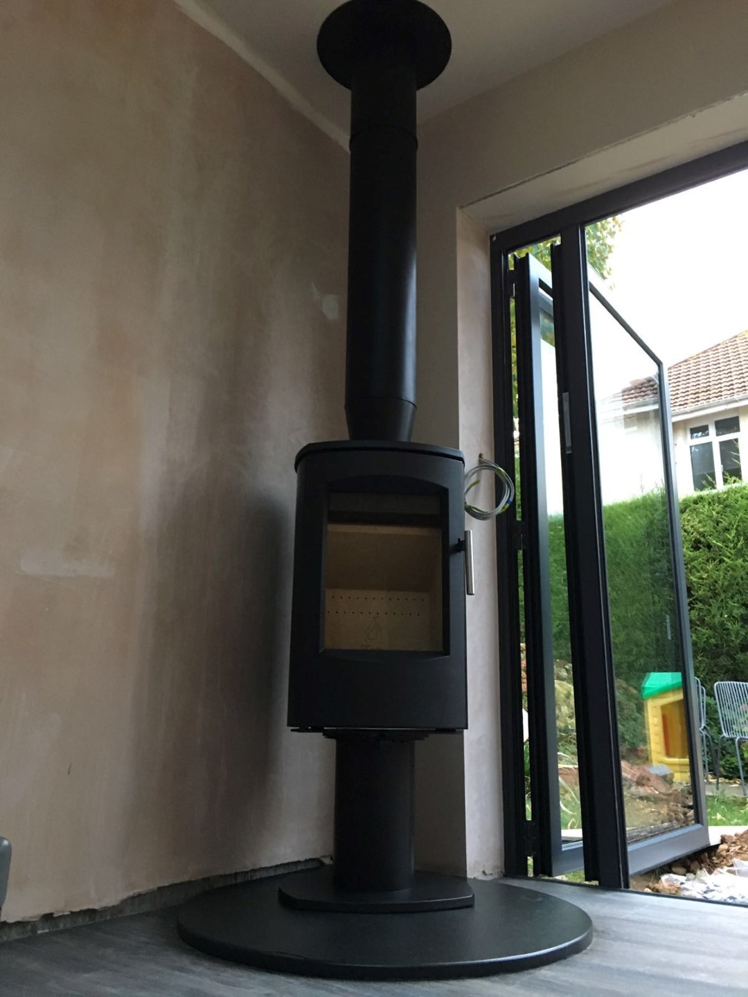 Installing a Wood Burning Stove in an Extension